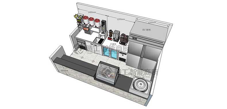 咖啡创业店设计图1